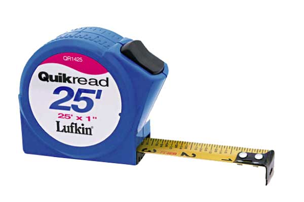 Lufkin Quickread Tape Measure